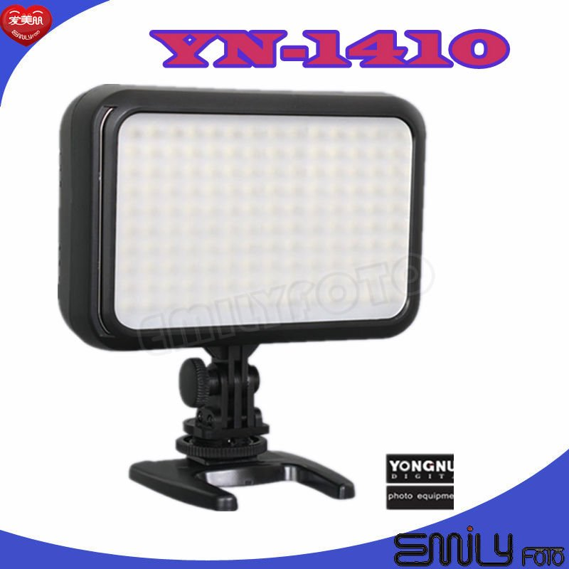 Yong Nuo YN-1410 Professional LED Camera Video Light set ,LED video light , Mini stand ,Instruction Manual