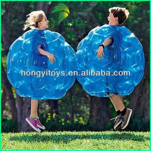 Outdoor Adult Play Tranparent TPU Excellent Quality Human Inflatable Body Bumper Ball