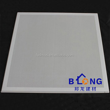 square shape sound absorbing acoustic metal ceiling