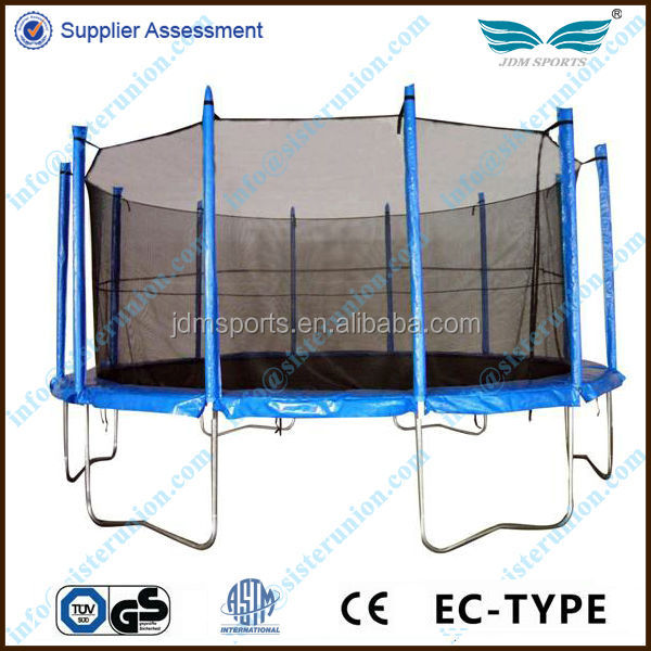 New hot selling 10ft round trampoline with safety enclosure