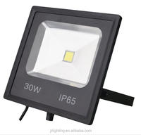 Factory supply slim 10W 20W 30W 50w led flood light outdoor Garden Light