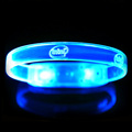 2017 Hot Party Supply Patent Design Free Sample Button Bracelet Charm Led Light Wristband