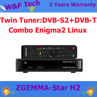 Zgemma-star H2 2015 the best hd satellite receiver zgemma star h2 Combo DVB S2+DVB T2 satellite tv receiver