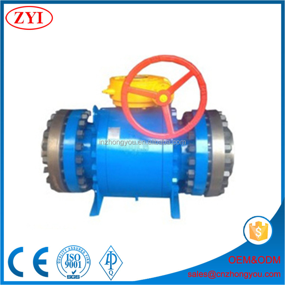 Granular medium API hard seal metal seated ball valve