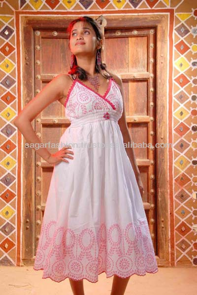 new arrival indian cotton prom dress design 2016 woman dress low price from china