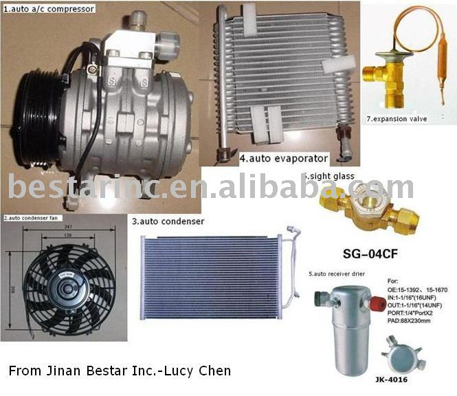 auto air conditioning part ( auto ac part)