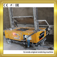 High Render Speed Plaster Rendering Machine For External Wall