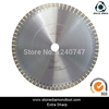 20'' Silence Core Cutter Saw Blades For Hard Granite Diamond Cutting Tools