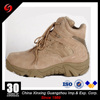 EVA+rubber outsole desert color split leather upper safety boots tactical boots for military