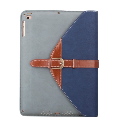 OEM Service Business Style Leather Protective Case for iPad Air 2 with 3 Gears Holder