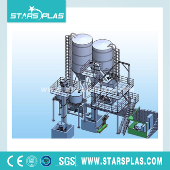 High-quality efficiency dry powder mortar mixer system