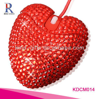 hot selling gifts rhinestone crystal diamante mouse