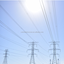 China Dezhou lattice Steel structure power Tower for electric transmission Line