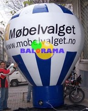 printed advertising balloon, rooftop balloon