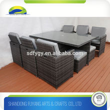 Outdoor Rattan Dining Table And Chair Set