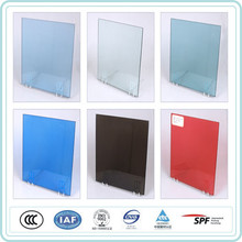 12.76mm laminated white glass
