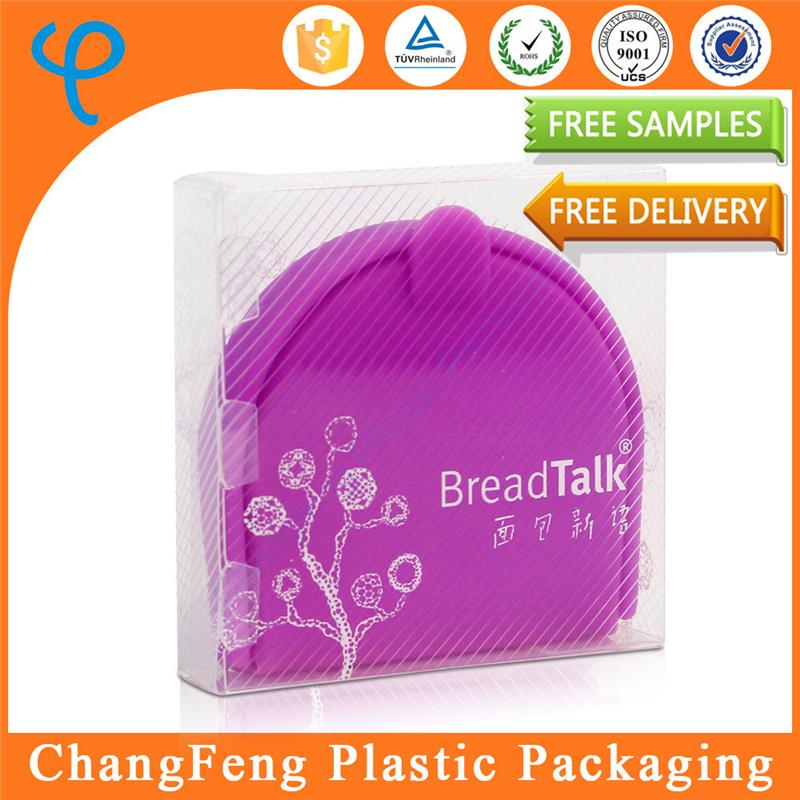 Clear packaging wholesale plastic bread box