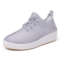 Popular new product custom female insole tennis mesh woman heel shoes