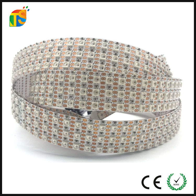 Magic sk6812 ic <strong>rgb</strong> 3535 mini led pixel strip 144led