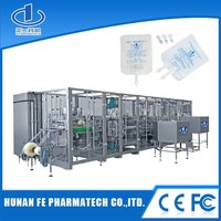 Non-pvc Soft Bag Iv Infusion Filling Production Line