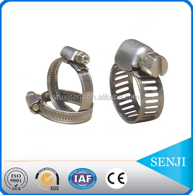 China supplier metal round t bolt spring hose clamp