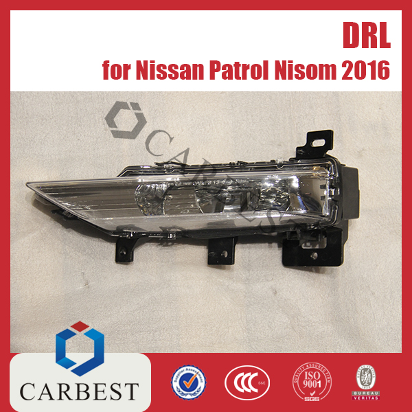 High Quality New 2016 Nismo Drl Daytime Running Light For Nissan Patrol 2010-2016
