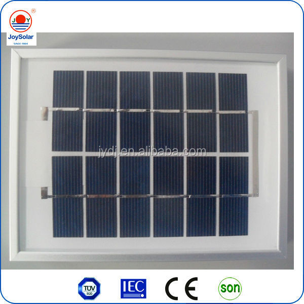 2w 4W 10W solar panel / low price mini solar panel , cheap solar panels for sale