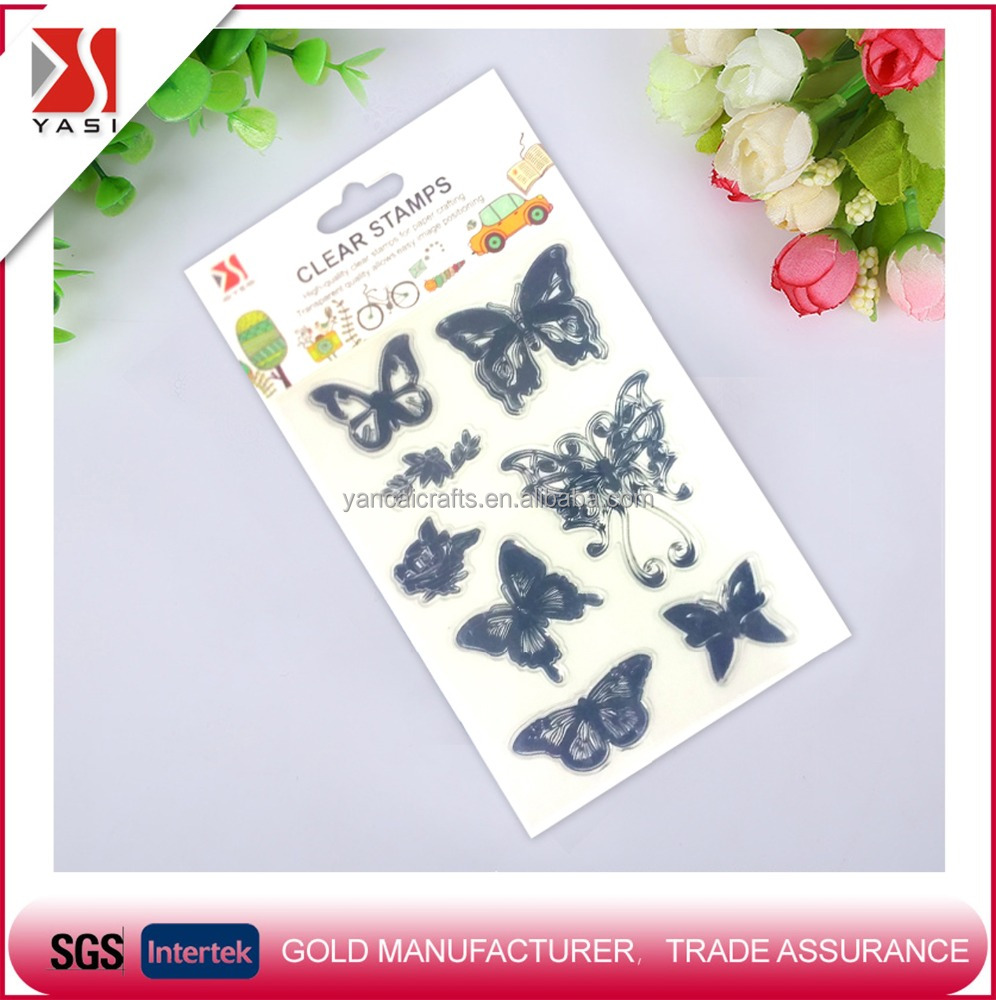 wholesale kids/children plastic sets soap scrapbooking inking craft clear stamp Christmas gifts tpr acrylic PVC rubber stamp