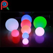 outdoor garden swinmming pool decoration Plastic PC battery led ball