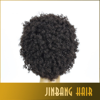 2016 Hot Selling Cheap Afro Kinky Curly Synthetic Wig African American Short Wigs For Black Women Curl Female Wig