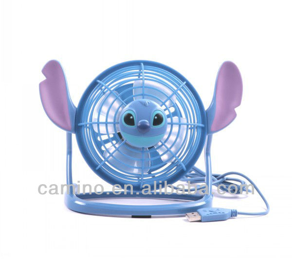 Camino 760629 Disney Lilo-Stitch style USB mini Fan for laptop computer