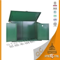 Factory Price Cheap Foldable Antirust Bike Storage Containers/Metal Bike Locker