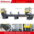 Double Heads Aluminum & PVC Profiles Cutting and Chamfering Machine