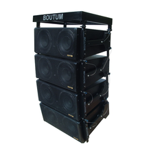 "Boutum Audio line array luidsprekers dual 8 ""professionele indoor passieve luidspreker"