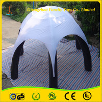 Excellent after-sale service inflatable advertising tent, lighting advertising balloon giant inflatable spider tent