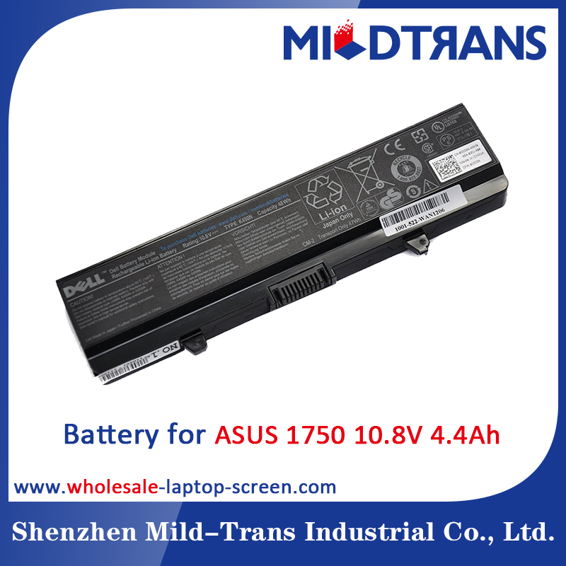 10.8V 4.4Ah For DELL Inspiron 1750 replacement laptop battery