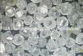 Large Size Uncut HPHT White Synthetic Diamond VVS SI