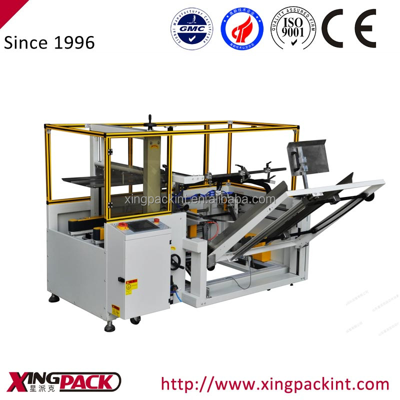 Case Erector Packaging Machine Case Erector Packing Machine