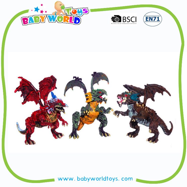 2016 Hot Sale Assembled egg dragon action figure flying toy