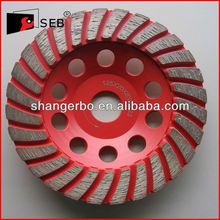 Daimond Turbo Grinding Cup Wheel For Concrete/Granite