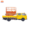 truck mounted lift table/scissor aerial lift platform