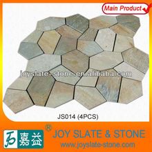 Beautiful decorative interlock pave edging garden stone
