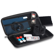 Carry Bag Earphone Silicon <strong>Case</strong> 13 in 1 Accessories Kits for Nintendo Switch