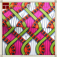 hot new products for 2015 wholesale african waxed cotton fabric
