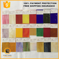 100% payment protection good cutting 3mm Stained glass sheet