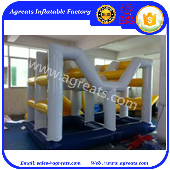 inflatable floating water park inflatbale water obstacle on sale G9029
