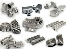 High precision Customized aluminum die casting Hardness reached to requirement ISO 9001 Certified