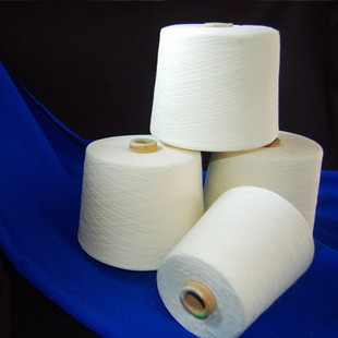 polyester cotton blended yarn 45s/1 tc 80/20 spun yarn price in India
