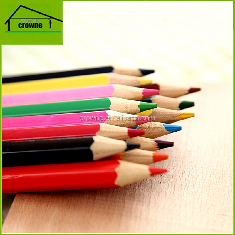 Cheap High Quality 48 Rainbow Color Pencils With Customized Package