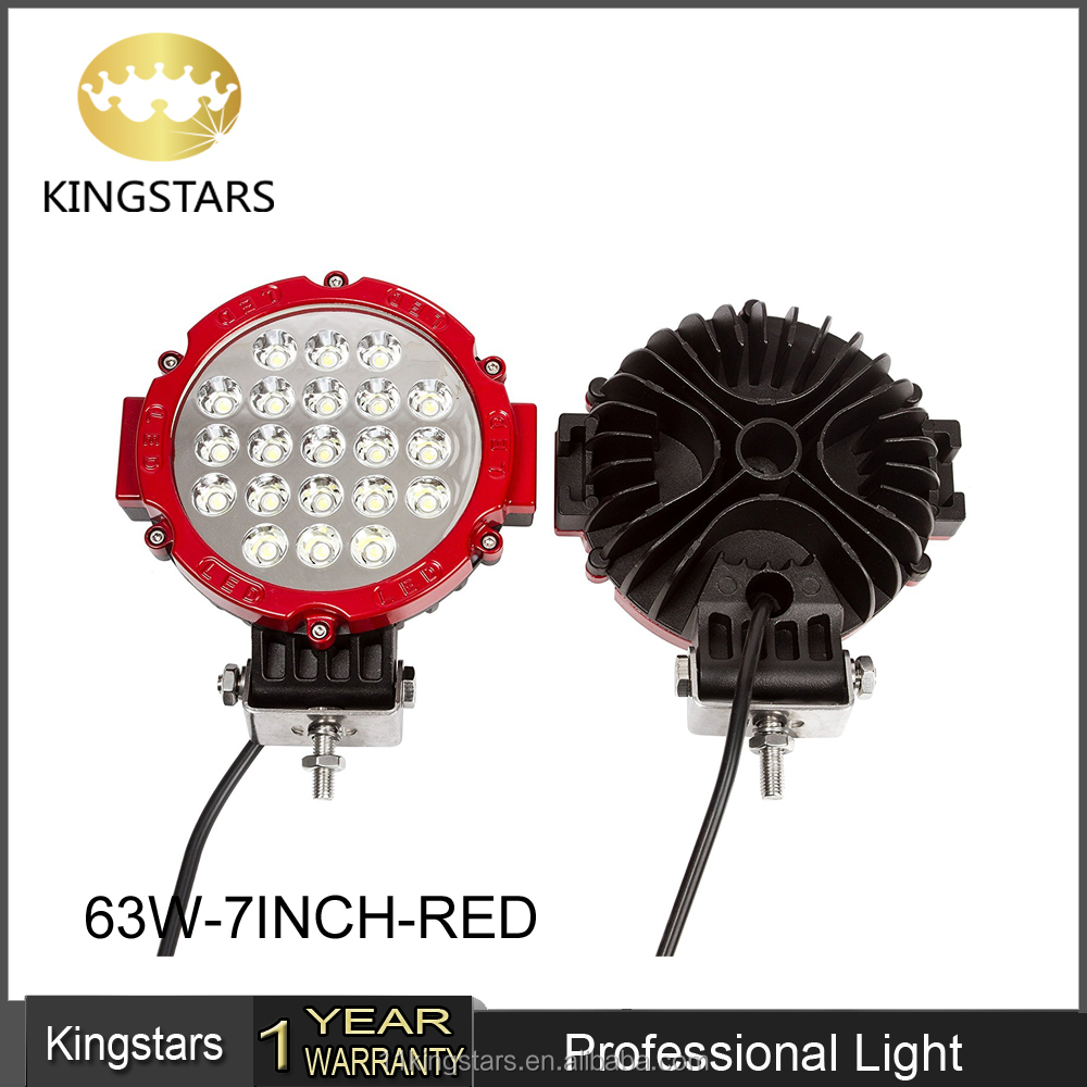 Wholesale tow truck bar lights online buy best tow truck bar kingstar waterproof high power led work lighting 63w strongtowstrong aloadofball Gallery